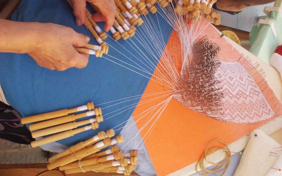 En septiembre aprendemos a tejer