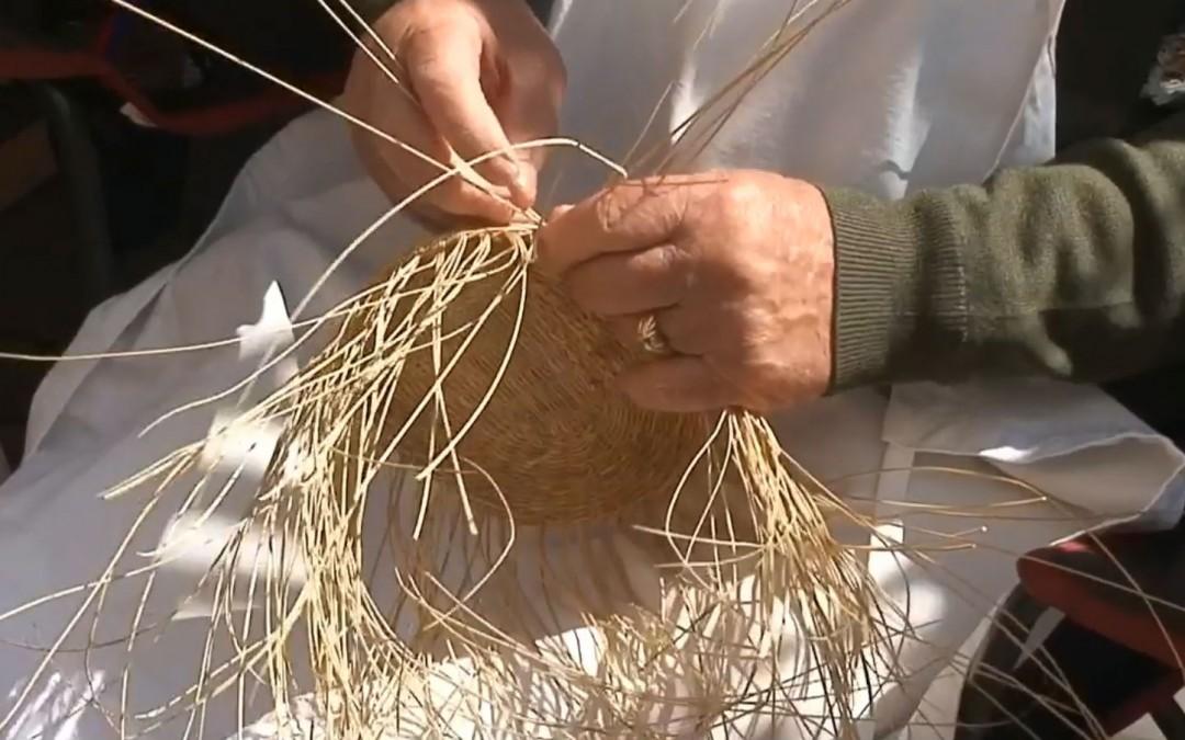 Disfrutemos del trabajo del esparto y otras fibras naturales