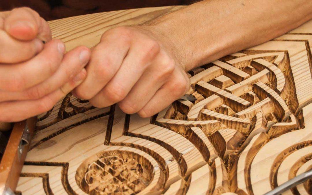 Los artesanos carpinteros mostraran su saber hacer en El Zacatín de julio